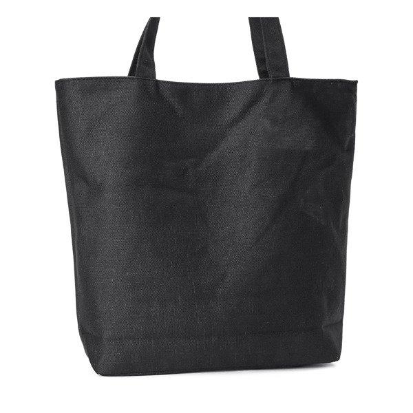 02943004b7c6e Czarna torba z napisem - Torebki - | Royalfashion.pl - sklep z ...