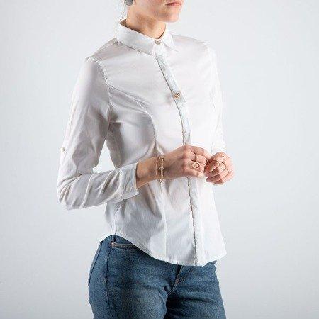 Biała damska koszula - Bluzki