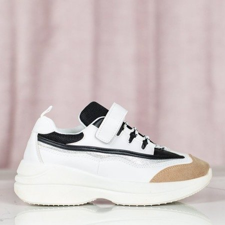 Białe buty sportowe ugly shoes Arlette - Obuwie