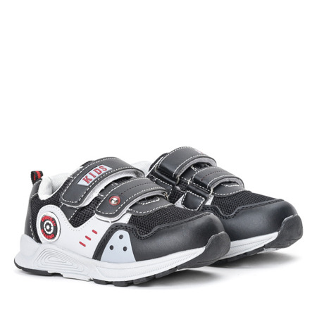 Czarne buty chłopięce sportowe Nildan - Obuwie