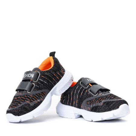 Czarne chłopięce sportowe buty Missisipi - Obuwie