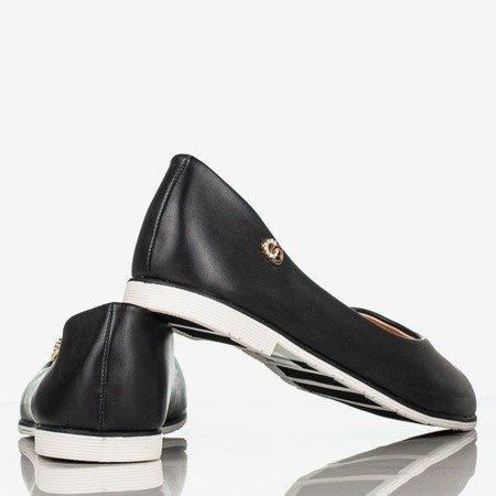 Czarne damskie mokasyny Sicolonia - Obuwie