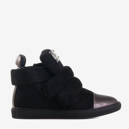 Czarne damskie sneakersy Emiliose - Obuwie