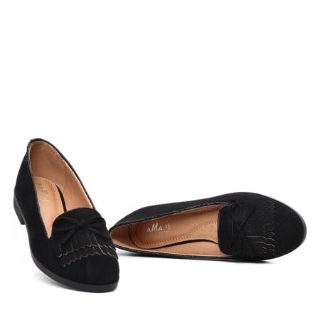 Czarne mokasyny Olivia- Obuwie
