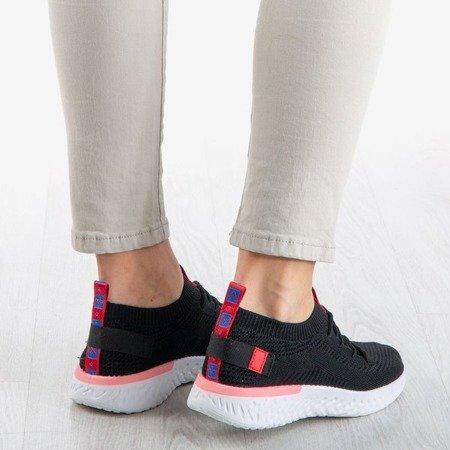 Czarne sportowe buty damskie Cammos - Obuwie