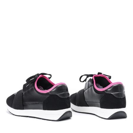 Czarno - różowe sportowe buty Jomix - Obuwie
