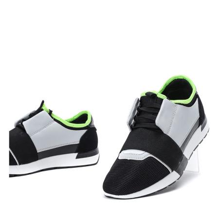 Czarno - szare sportowe buty Jomix - Obuwie
