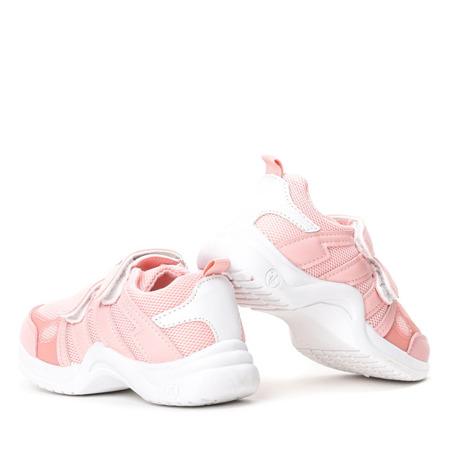 Dziewczęce różowe buty na grubej podeszwie Pilija -Obuwie