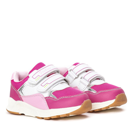Fuksjowe dziewczęce buty Alona - Obuwie