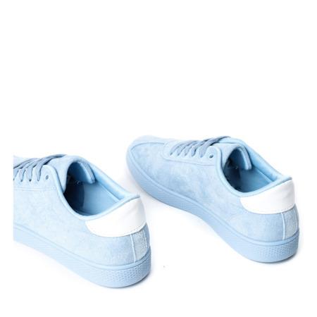 Jasnoniebieskie buty sportowe Dinara - Obuwie