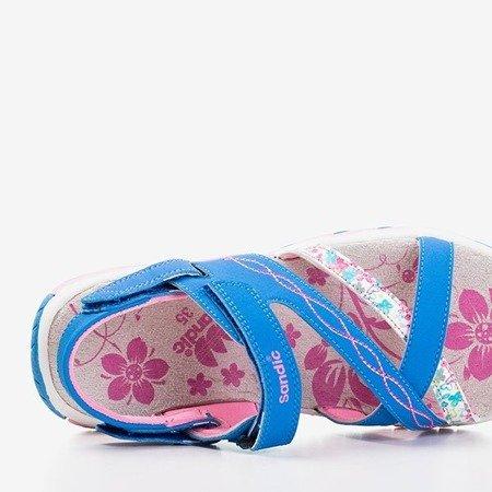 Niebieskie dziewczęce sandały Esteban - Obuwie