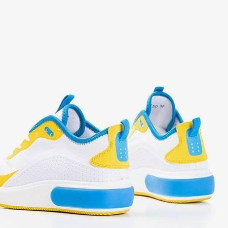 OUTLET Kolorowe sportowe buty damskie na platformie Clala - Obuwie