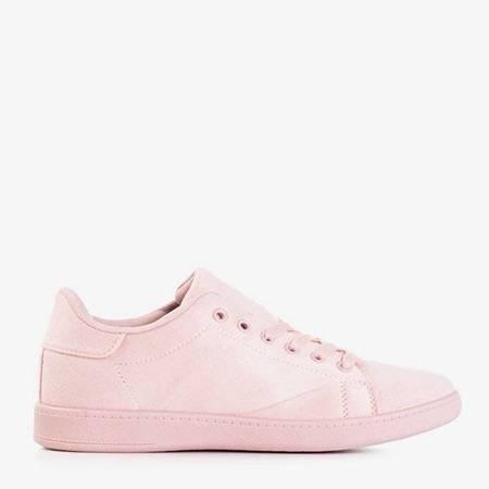 OUTLET Różowe damskie tenisówki Stanley - Obuwie