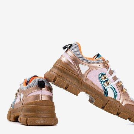 Wielokolorowe buty sportowe na grubej podeszwie Olysseia - Obuwie