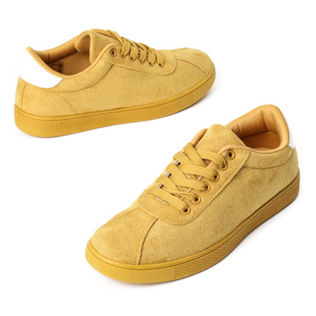 Żółte buty sportowe Dinara - Obuwie