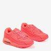 Neonowo-różowe sneakersy dziewczęce Maro  - Obuwie