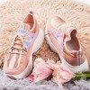 Sneakersy damskie z holograficznymi wstawkami Ginna - Obuwie